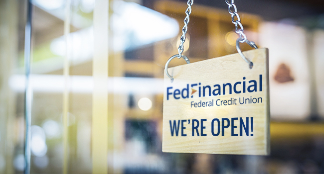 FedFinancial Is Open for You